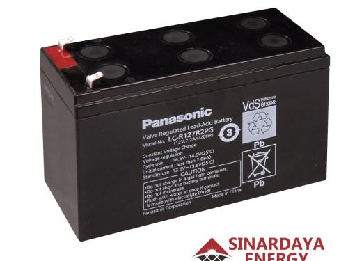 jual baterai panasonic 12v 27.2ah