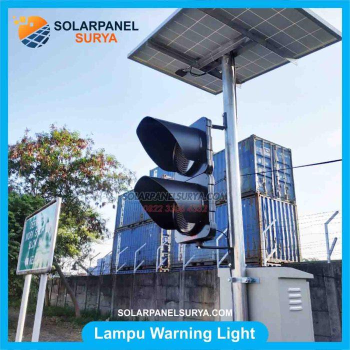 JUAL Lampu Hati Hati Lampu LED Warning Light 2 Aspek 30cm
