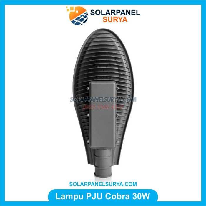 Lampu jalan Tenaga Surya led cobra 30 Watt