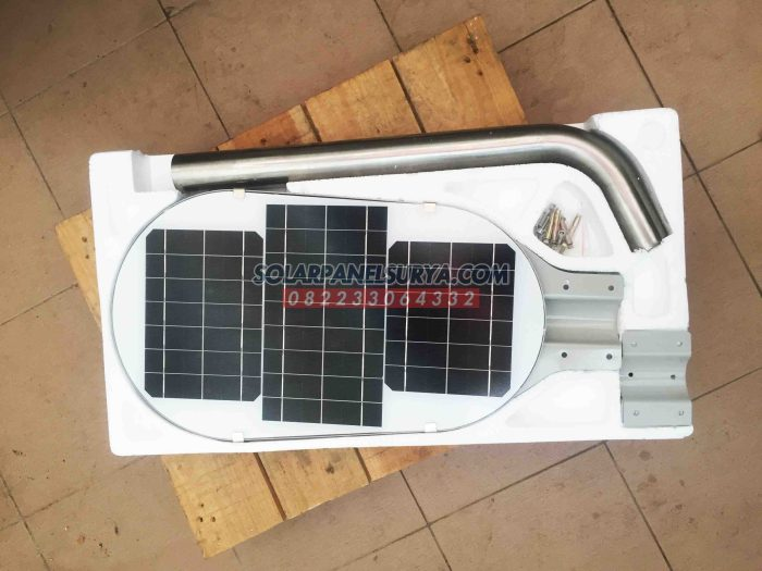 Jual PJU Solar Cell 50 Watt All In One Fatro