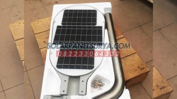 PJU Tenaga Surya 75 watt All In One Fatro | Lampu PJU All in One Fatro 75w