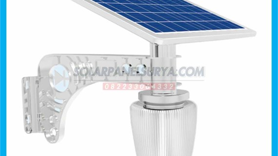 Lampu Taman Tenaga Surya All In One Apple Light 7 watt