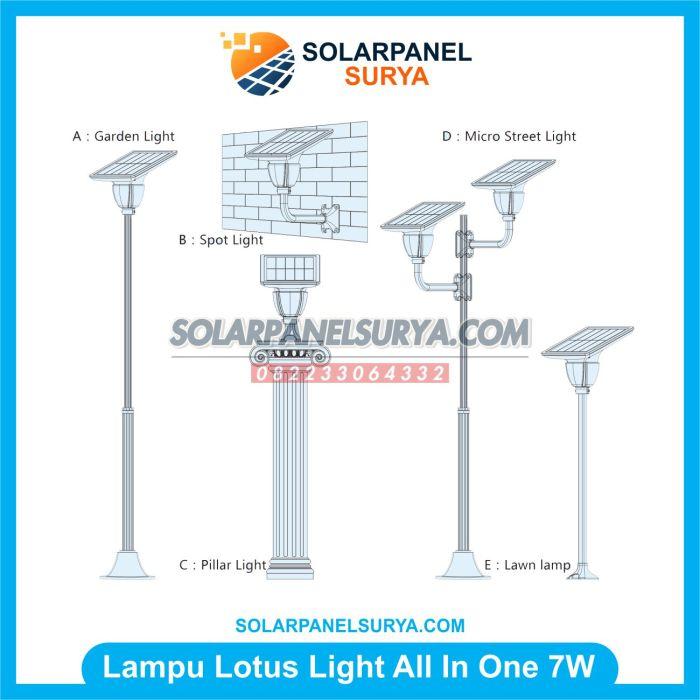 Lampu Taman Solarcell