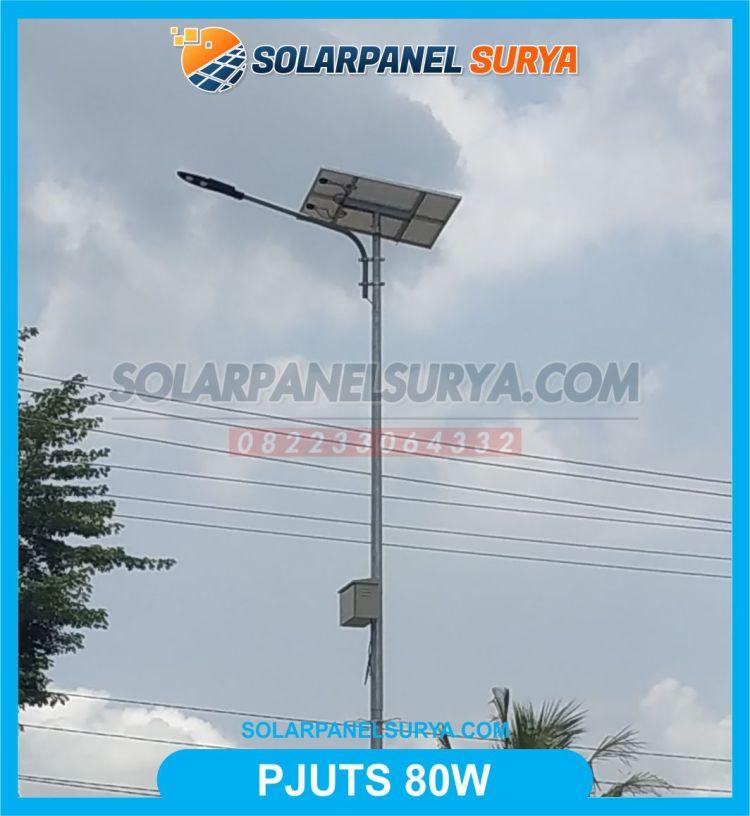 pju tenaga surya 80 watt