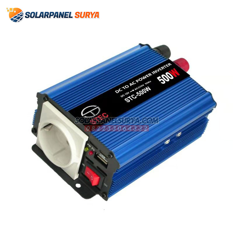 inverter listrik dc to ac 500 watt stec