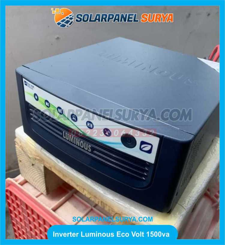 jual Inverter Eco Volt Sine Wave Luminous 1500va