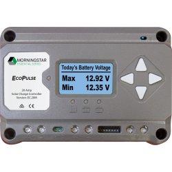 EcoPulse Regulator, 12/24V, 20A, with Meter