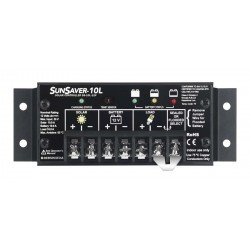 SunSaver Regulator 24V 10A Input 10A Load, LVD
