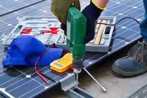 solar electrical components