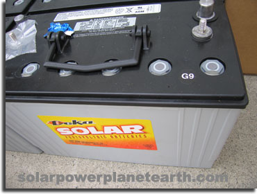 Solar Pv System Wiring Diagram Solar Power System Deep Cycle Batteries