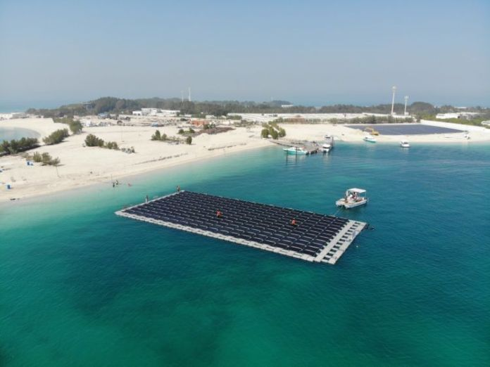 GCL SI Supports Floating Solar Power Plant in Persian Gulf