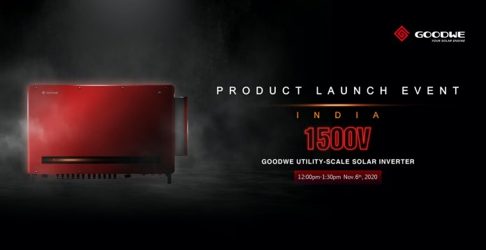 Launching GoodWe's HT Series 1500V PV Utility-Scale String Inverters