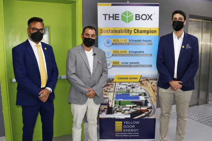 The Box Self Storage Selects Yellow Door Energy as Solar Partner