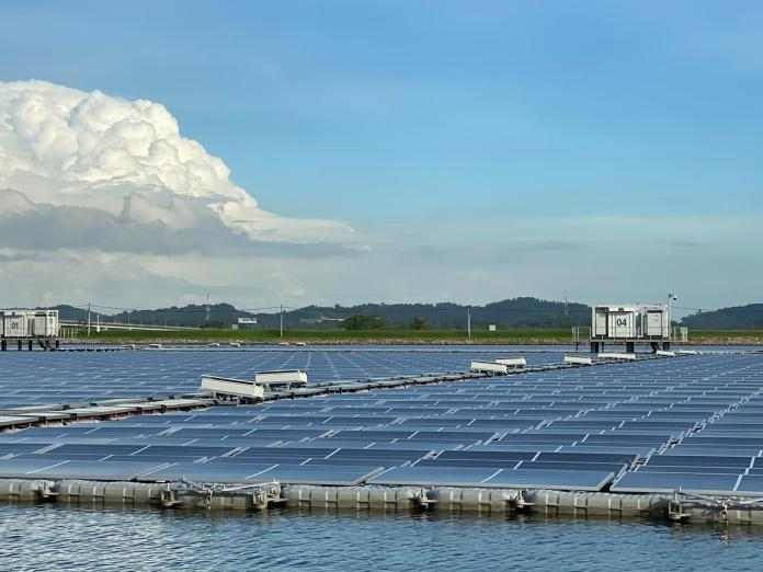 Trina Solar 210 Vertex Modules Used For 60MW Floating Solar PV System In Singapore