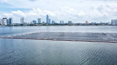 Where The Sun Meets The Sea: Offshore Floating-PV Powers Singapore's Journey Toward Carbon Neutrality – Huawei