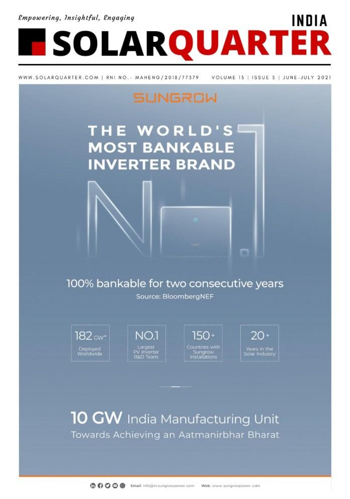 SolarQuarter India Magazine, June-July 2021