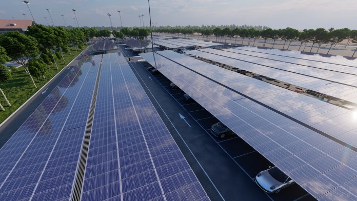 SirajPower Signs a 2MWp Solar Carport Deal with Emirates Group