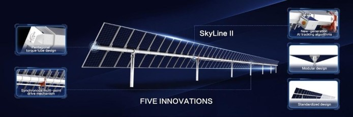 Arctech Launches New Solar Tracking System SkyLine II to Reduce LCOE