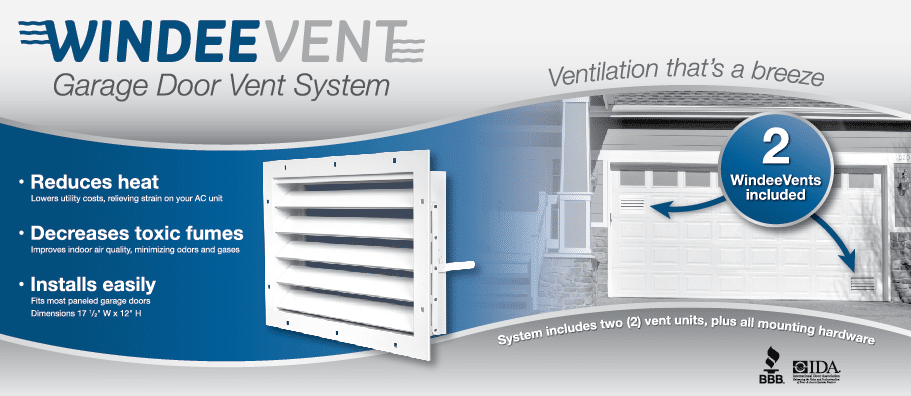 windeevent garage door ventilation
