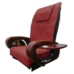Irest Massage Chair Used Plastic Folding Chairs Wholesale Solar Spa Top Burgundy 69 Solarspallc