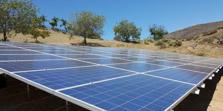 solar panel installation in california