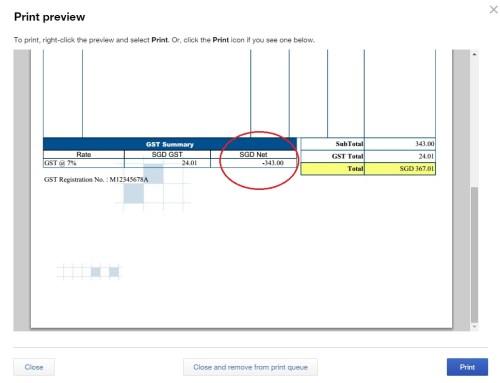 QuickBooks Online Singapore Solarsys - Quickbooks invoice subtotal