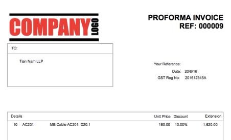 Pro Forma Invoice (Proforma Invoice)   Solarsys