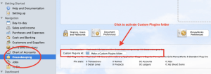 MoneyWorks Custom Plugins