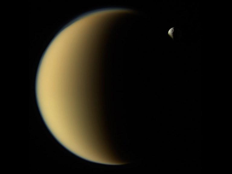 slide 2 - Titan and Tethys