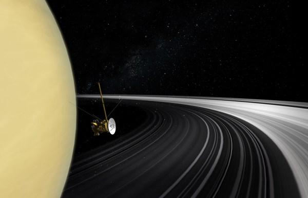 Nasa' Cassini Data Show Saturn' Rings