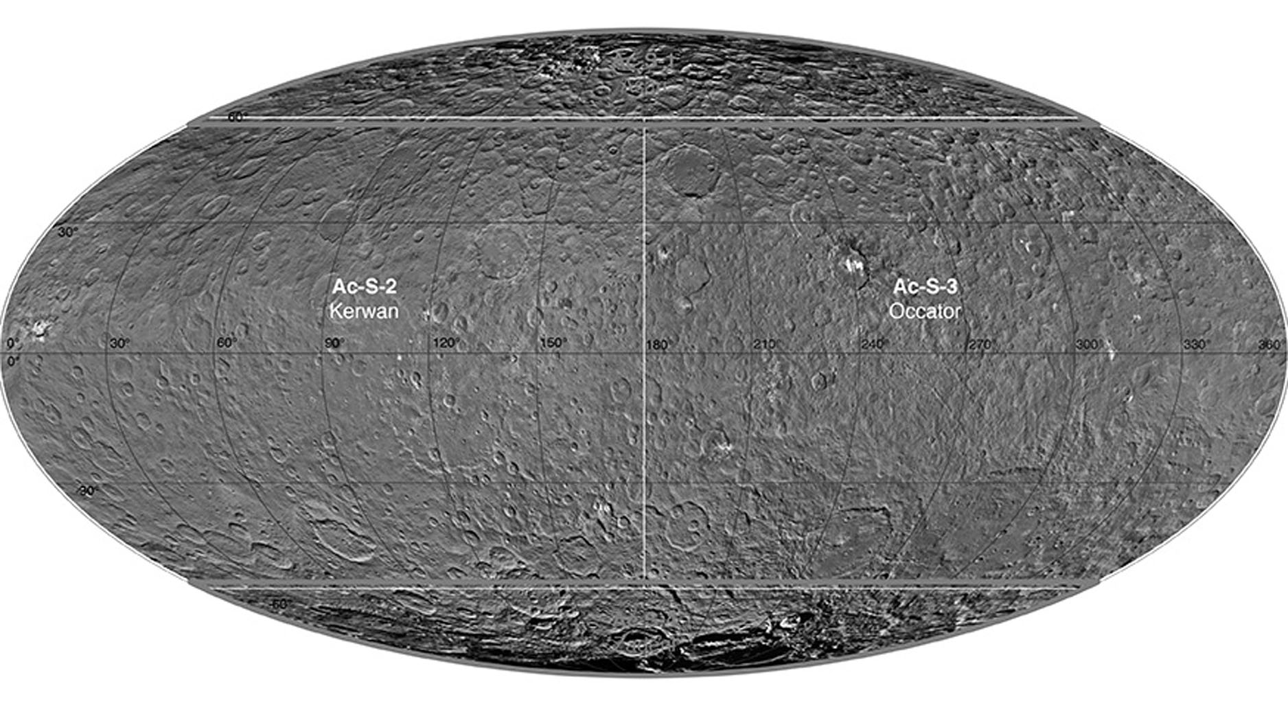 Ceres Survey Atlas