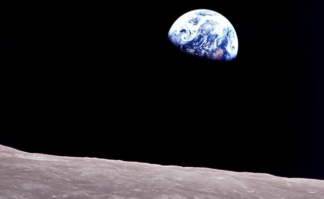 Apollo 8 S Earthrise Solar System Exploration Nasa Science