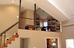 Interior, Laundry Room & Custom Stairs