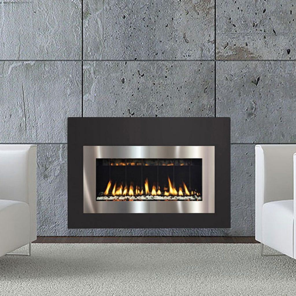 Contemporary Gas Fireplaces