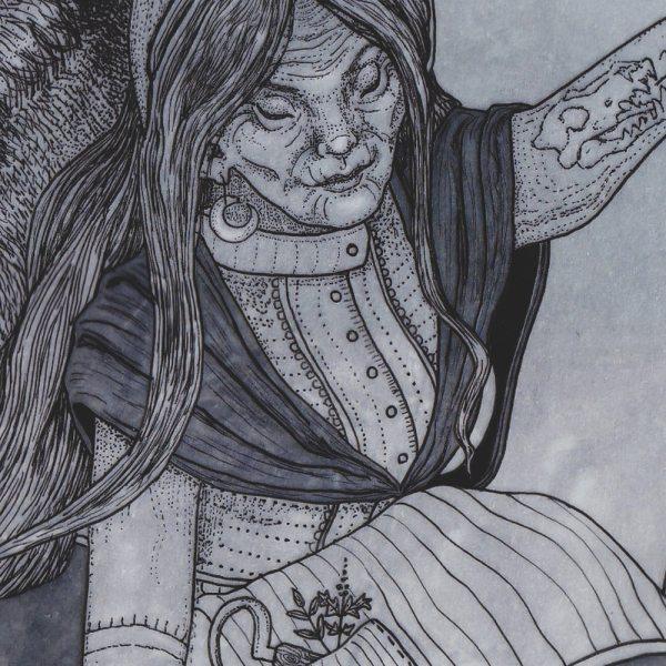 La Loba - Atelier Solawende Illustration