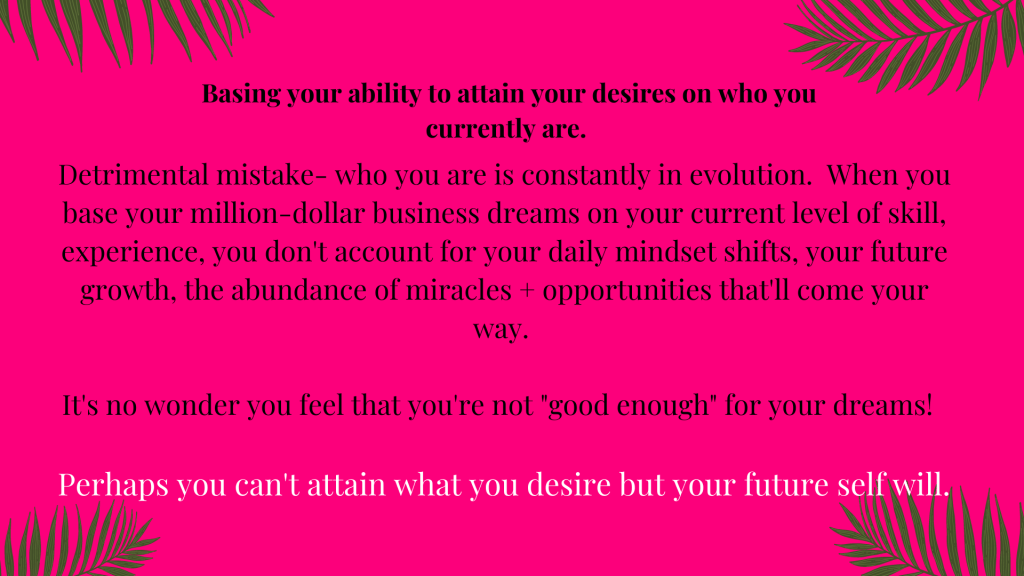 Prosperous Business Mindset Mistakes you didn't know you were making!