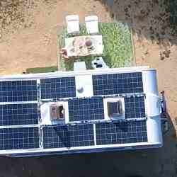 Solbian solar caravan vegan cook energy independent