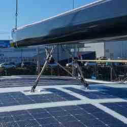 Beneteau 62 Yacht Solar Hardtop Vorschiff Solbian
