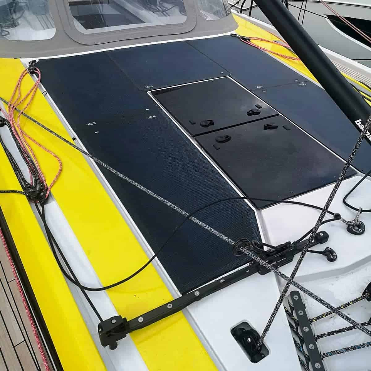 Grand Soleil 48 Solar Solarmodul Deck begehbar Solbian