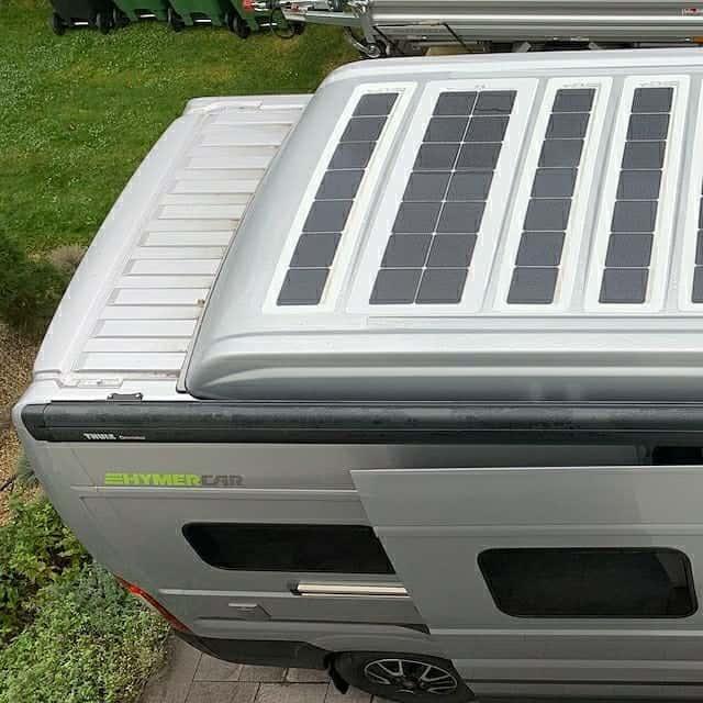 Fiat Ducato Hymer Hymercar Free 600 solar roof Solbian