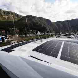 Jeanneau NC 33 Solaranlage Solbian
