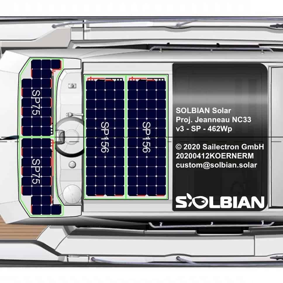 Jeanneau NC 33 Solbian Solar