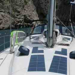 Bavaria 39 2005 Segelyacht Segelboot Solaranlage Deck Solbian Solar