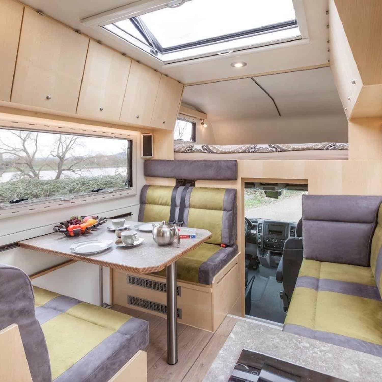 Bocklet Ando 750 Mercedes Sprinter 6x6 caravan expedition truck Solbian Solar