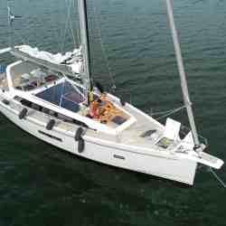 SOLBIAN Solar Sunbeam 46.1 sailing yacht boat deck-integrated walkable black solar panels bespoke custom-made