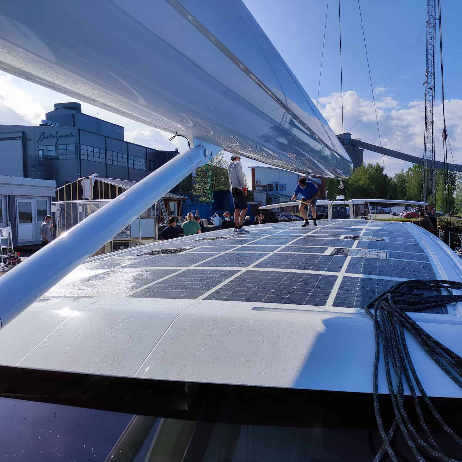 Baltic 146 PATH superyacht Solbian solar photovoltaik largest in the world walkable custom-made bespoke yacht sailing crew