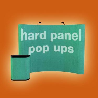 hard panel pop ups