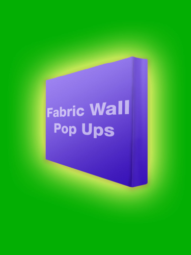 fabric pop ups