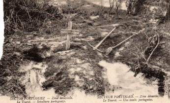 Cemitério improvisado