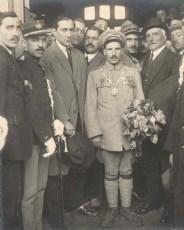 As homenagens em Lisboa e no Porto (1924) transformaram o soldado num herói popular